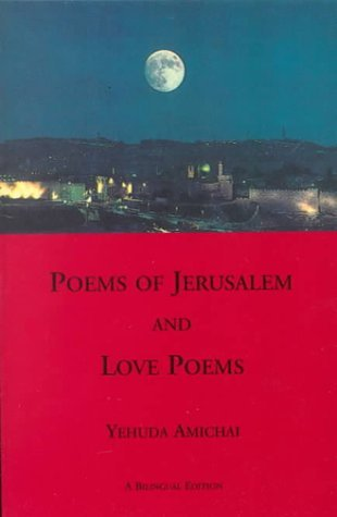 love poems book. poems of jerusalem and love